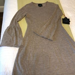 Cynthia Rowley Bell Sleeve Sweater Dress